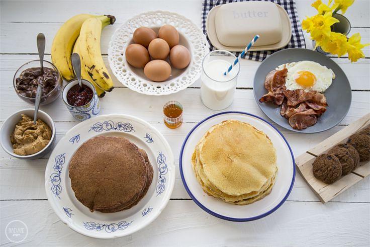 Κλασσικά Αμερικάνικα Pancakes - madameginger.com