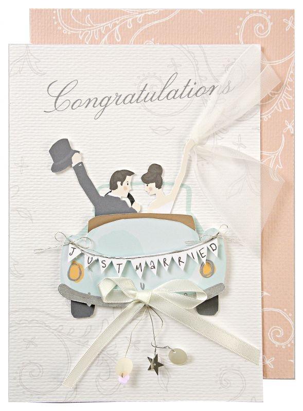 "Grusskarte ""Congratulations"""