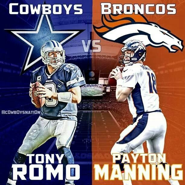 Take em down Cowboys...today's the day!