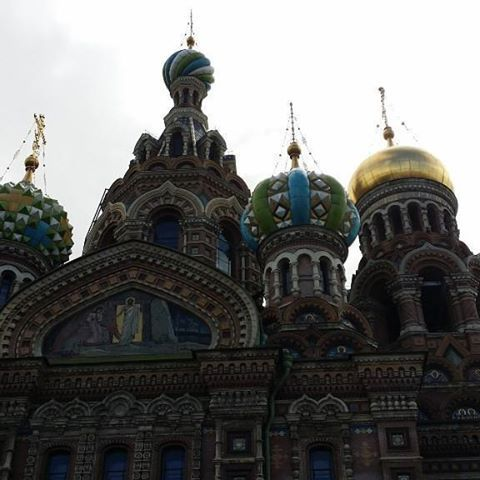 http://www.traveldumps.com St Petersburg: Church of the Saviour of Spilled Blood. #travel #traveltuesday #traveler #travelblogger #church