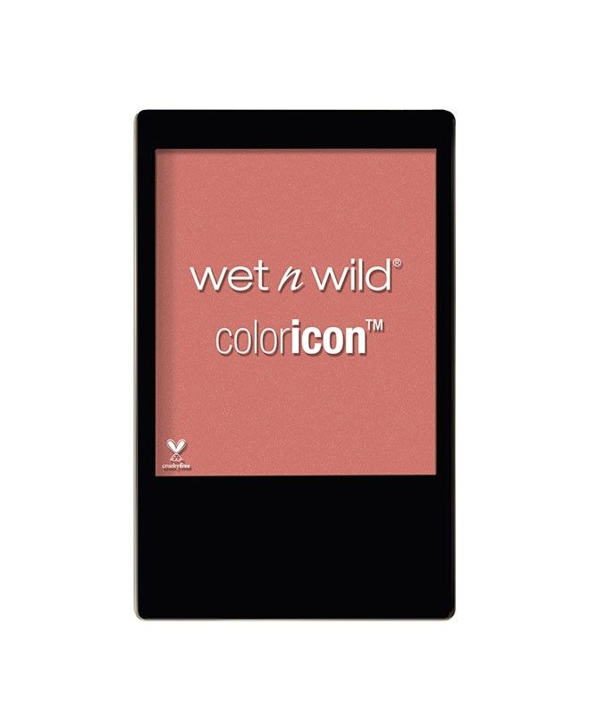 Wet n Wild - Color Icon Blush in Pearlescent Pink. I get compliments on this all the time. VERY pigmented. When I die, there will still be some of this. Rose Champagne. A great blush topper or day off makeup day.