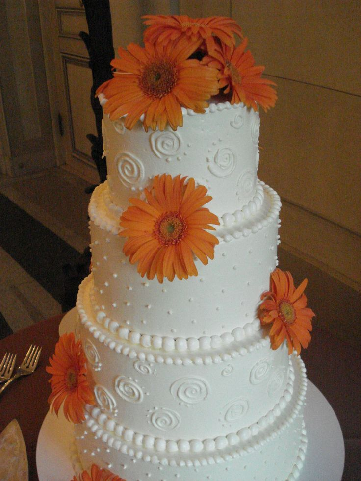 gerbera daisy wedding cakes 53 best gerb ideas images on wedding bouquets 14667