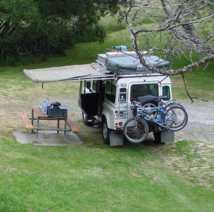 Land Rover Defender 110 Camping Adventure.