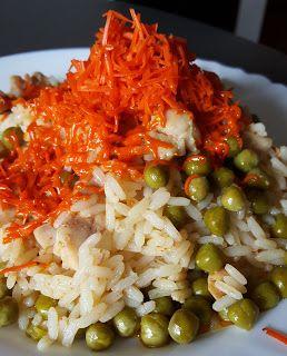 Vaříme bez tuku: Kuřecí rizoto s hráškem