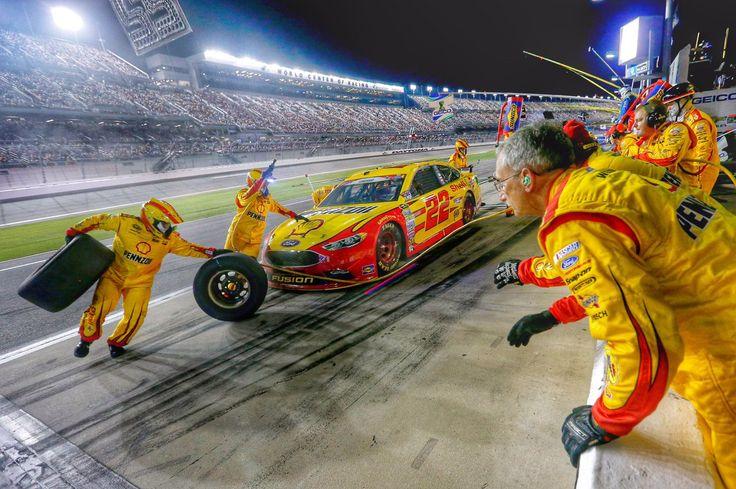 NASCAR Joey Logano Daytona July 2016