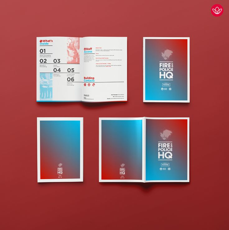 Hampshire Fire and Police HQ brochure on Behance