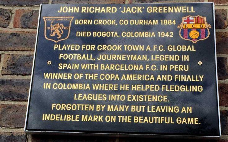 Remembering Jack Greenwell, key forgotten figure of Bogotá football