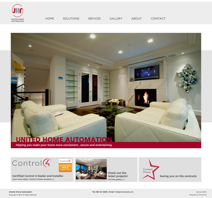 http://www.uhacanada.com/ websites, website inspiration, website ideas, calgary web design