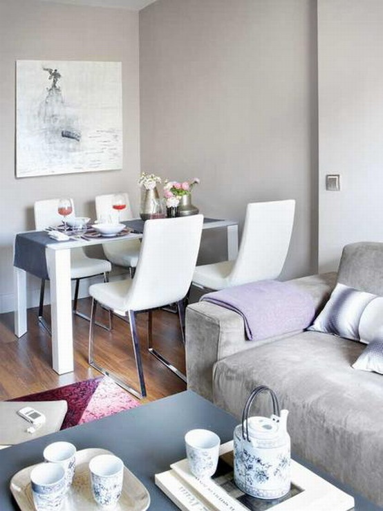 Modern Dining Room Decorating Ideas Apartment Decorate A Small Living Amazing Contemporary Design Eas With Cozy And Stylish