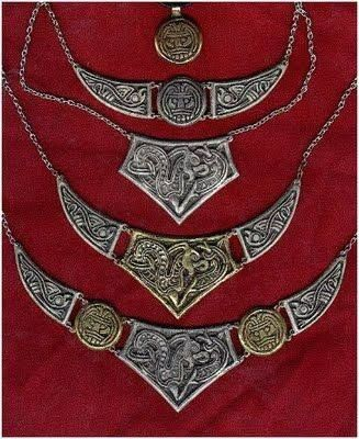 Anglo saxon necklaces