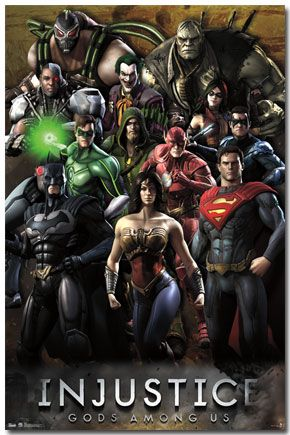 Injustice - Grid Poster