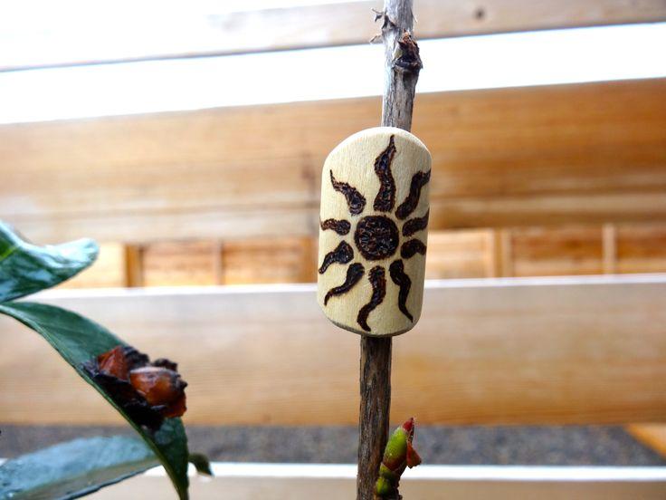Organic, hand crafted bead for #dreadlocks !