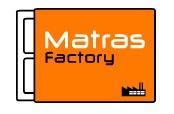 Mattress Factory from Holland Logo. Love the orange :)