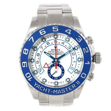 Rolex Yachtmaster II Stainless Steel Blue Bezel Mens Watch. Get the lowest price on Rolex Yachtmaster II Stainless Steel Blue Bezel Mens Watch and other fabulous designer clothing and accessories! Shop Tradesy now