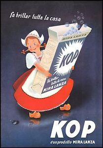 Detersivo Kop Miralanza 1952