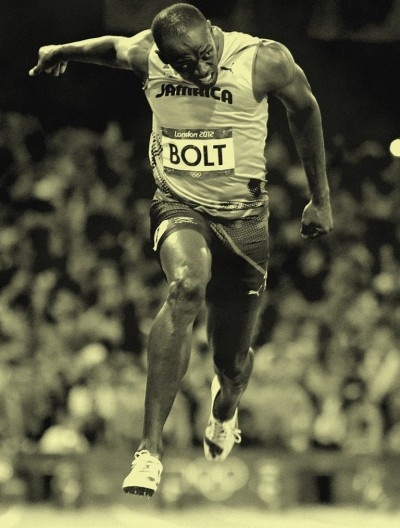 Usain Bolt- one of my two idols. My other.......Sally Pearson AAAAAAAAAHHHHHHHH!