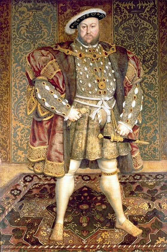 King size! Henry VIII's armour reveals he had a 52in girth - for which he paid a…