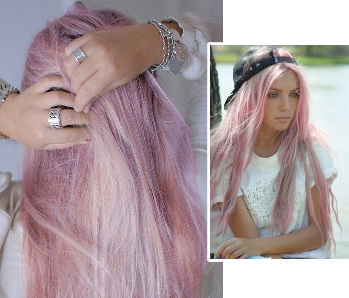 Pink hair: The trend, the dye and the temporary solution