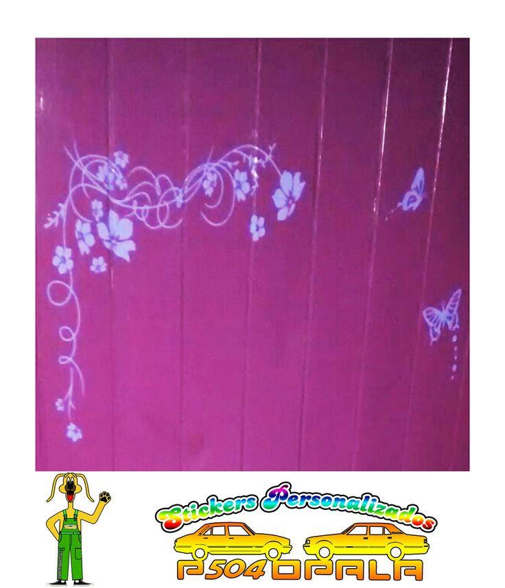 1000 ideas sobre mural de flores en pinterest murales for Mural de flores y mariposas