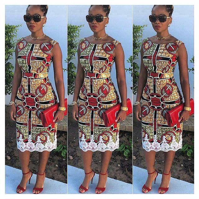 @Regrann from @taibobacar -  Silvia Nkutumula wearing TAIBO BACAR #Regrann