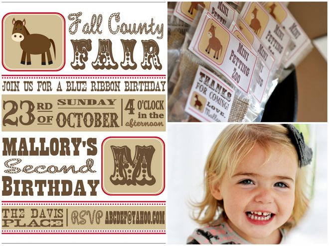 County Fair Birthday!