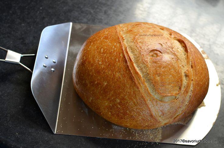 paine de casa coapta pe piatra reteta savori urbane