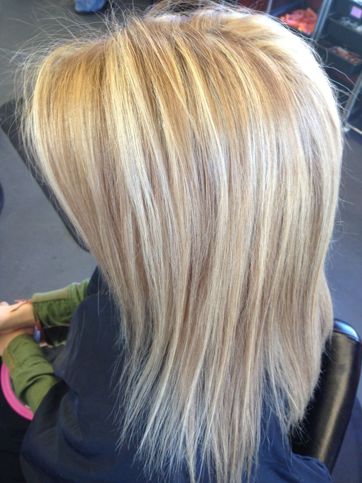 Blonde highlights and lowlights | I want that hair | Pinterest