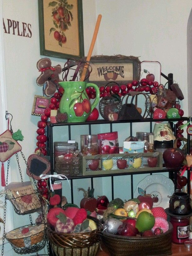 country apple decorations for kitchen 380 best images about apple kitchen on country 8419