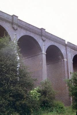 The Fourteen Arches, at the edge of Hilly Fields. Many a day under and over. Catching sticklebacks and tadpoles or turning half pennies into pennies under the wheels of a steam train.