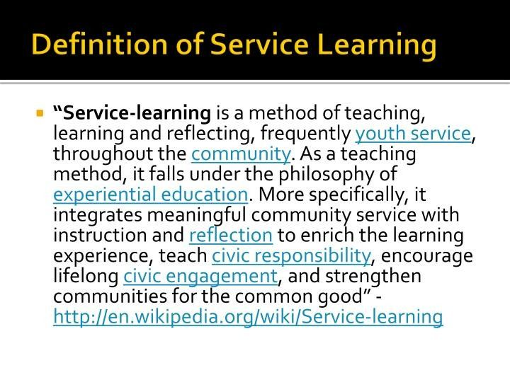 Service Learning Definition The 2 Reasons Tourists Love Service Learning Definition Learning Definition Service Learning The Learning Experience
