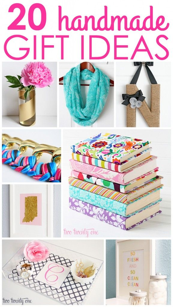 20 Handmade Gift Ideas