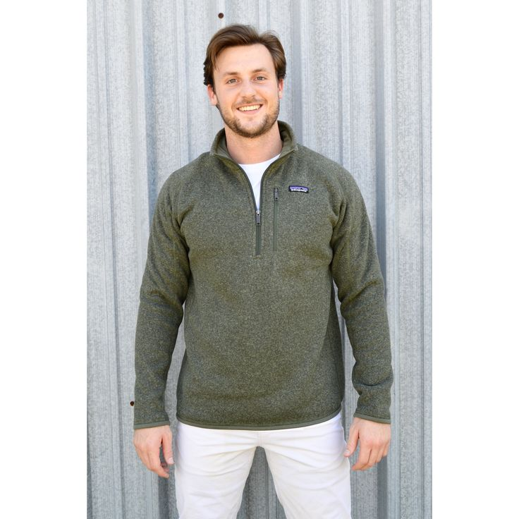 Patagonia Men S Better Sweater Quarter Zip Fleece
