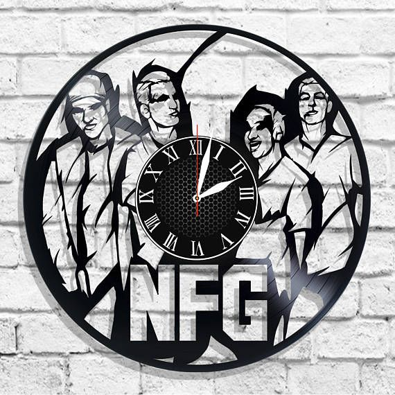 New Found Glory band design wall clock New Found Glory wall