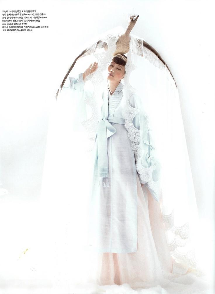 high fashion hanbok.