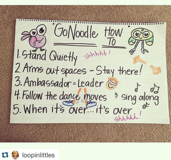 GoNoodle's Back to School Blogger Blitz