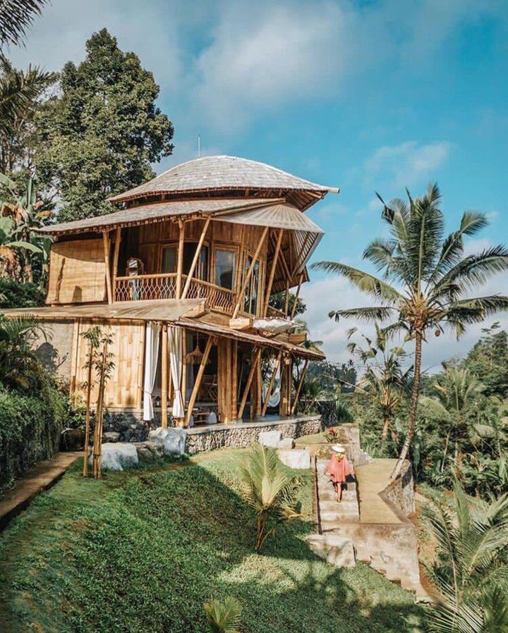 Camaya Bali Bamboo House Bali Ubud Liburan