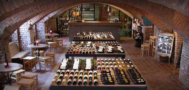 Wein cellar in Brno