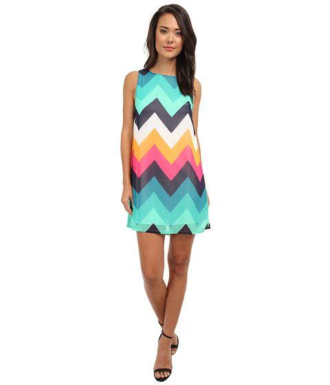 Gabriella Rocha Chevron Dream Shift Dress Rainbow - Zappos.com Free Shipping BOTH Ways