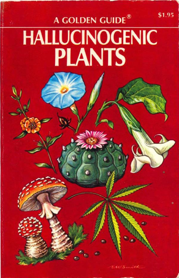 A Golden Guide to Hallucinogenic Plants (1976) http://www.cultofweird.com/books/golden-guide-hallucinogenic-plants/
