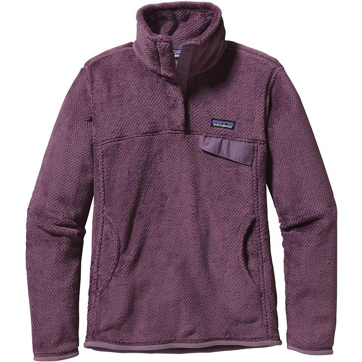 Patagonia Women's Re-Tool Snap-T Pullover - at Moosejaw.com. Orange one.