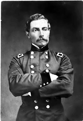 General P.G. T. Beauregard. Leader of the main Confederate Army in the First Battle of Bull Run.