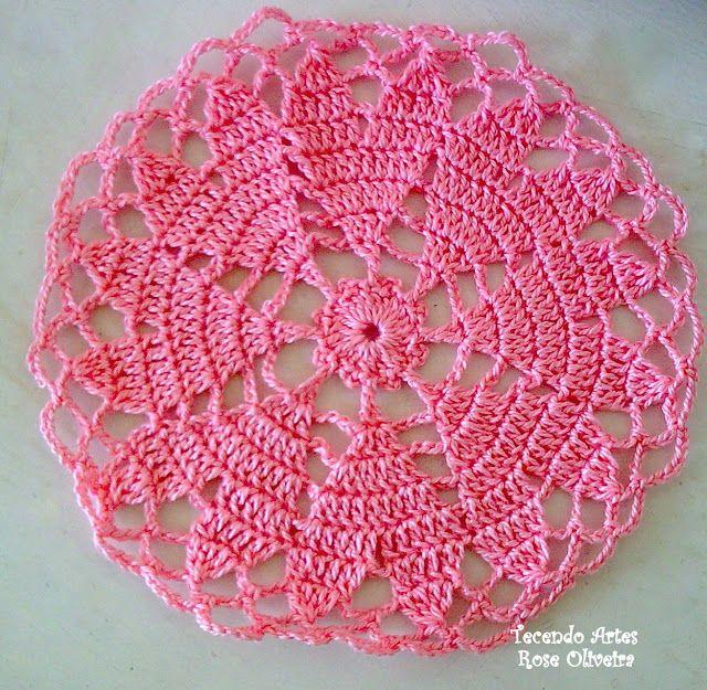 Tecendo Artes em Crochet: Mine- Toalhinhas