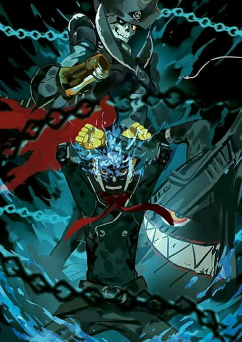 #Persona5 Ryuji/ Skull and Captain Kidd | Everything Anime ...