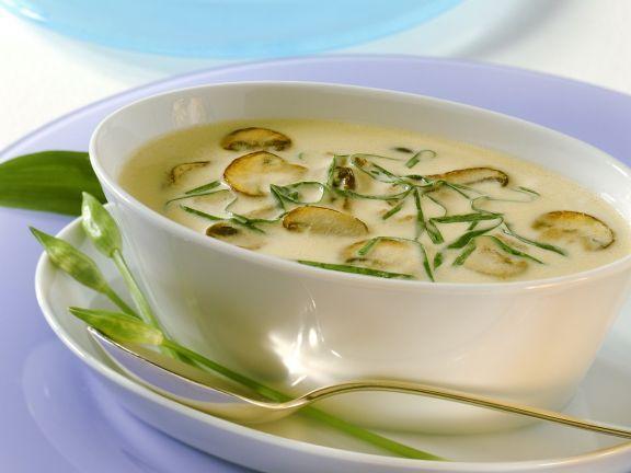 Champignon-Bärlauchsauce ist ein Rezept mit frischen Zutaten aus der Kategorie Pilze. Probieren Sie dieses und weitere Rezepte von EAT SMARTER!