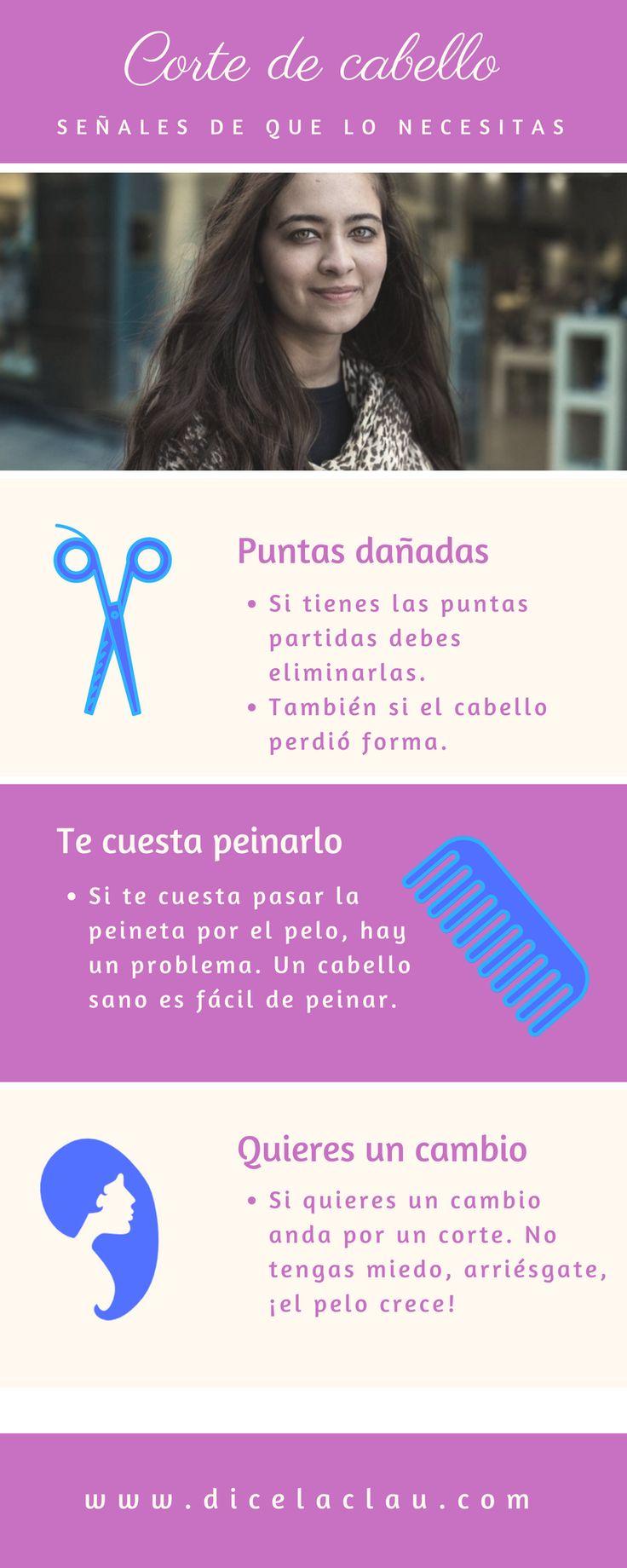 Estas señales te indican que necesitas un corte de cabello. No lo dejes pasar, puede estar mucho más sano y bonito.
