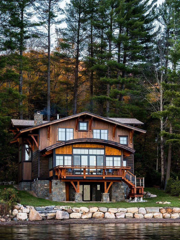 Rustic Lake House Interiors: 20 Ravishing Rustic Home Exterior Designs You Will Obsess