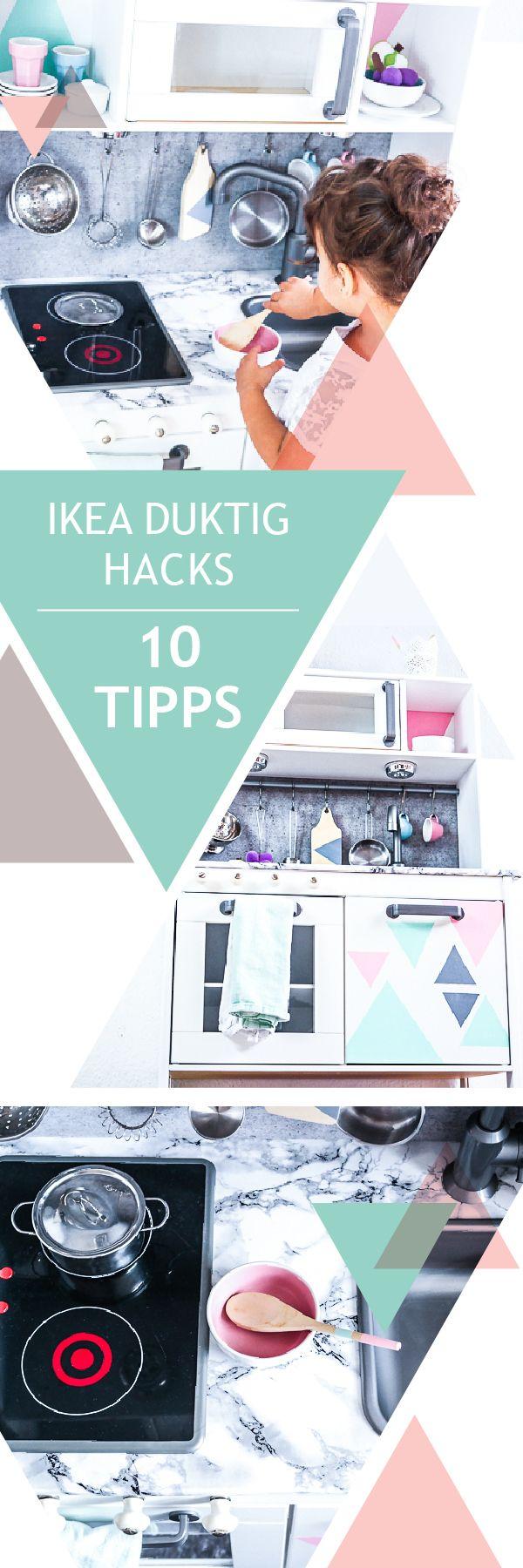 IKEA DUKTIG Kinderküche pimpen – 10 einfache DIY Tricks für eure Spielküche // Werbung
