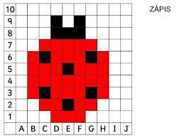 Risultati immagini per coding nella scuola primaria schede pixel art