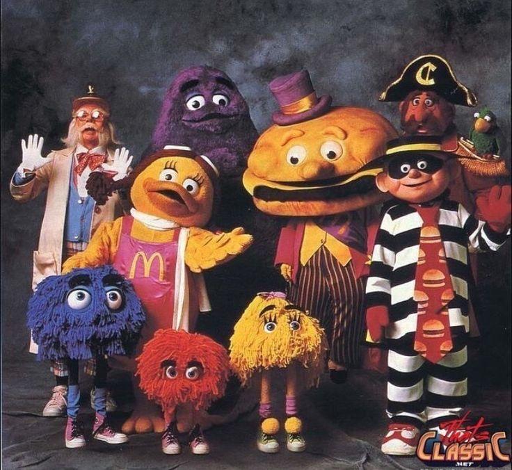 McDonalds in the 80's