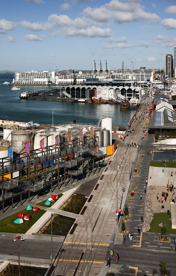 Jellicoe Harbour & Silo Park | Auckland New Zealand | Taylor Cullity Lethlean & Waterfront Auckland